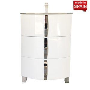 20 inch Bathroom Vanity Cabinet KRON Gloss White Socimobel