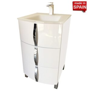 20 Inch Kron Bathroom Vanity Socimobel Made in Spain KRHW-020