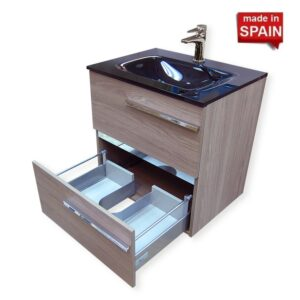 24 INCH SAMARA BATHROOM VANITY COLOR ESTEPA SOCIMOBEL MADE IN SPAIN