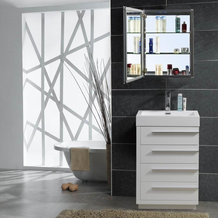 "virtu usa 24"" bailey modern bathroom vanity - newbathroomstyle 24 Bathroom Vanity"