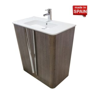 32 Inch ORDONEZ Modern Bathroom Vanity Color MALI SOCIMOBEL Made in Spain