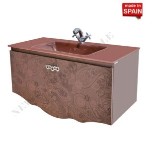 32 inch CHER Modern Bathroom Vanity Cabinet Color Brown Belezza