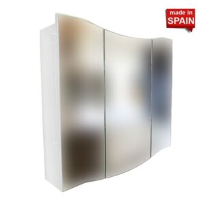 36-inch MEDICINE CABINET GLOSSY WHITE MC-GW-3 SOCIMOBEL MADE IN SPAIN