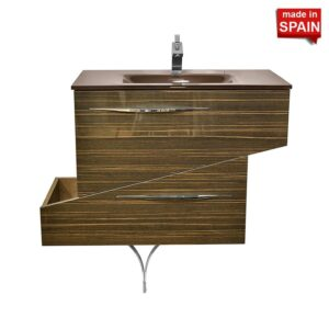37 inch Geometric European style Bathroom Vanity Socimobel
