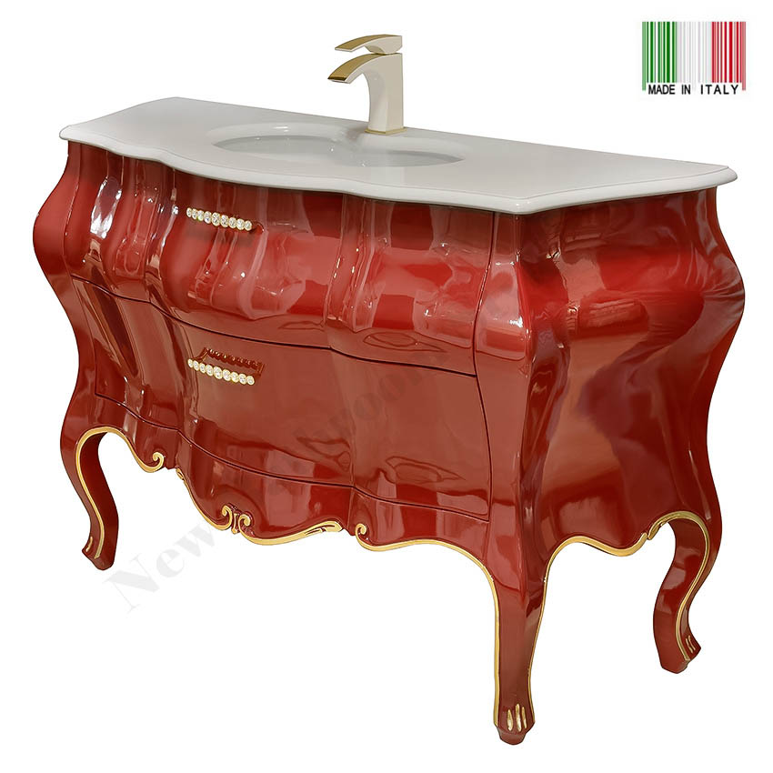 48 Inch Modern Bathroom Vanity TOSCA 48 GB Group Made In Italy_