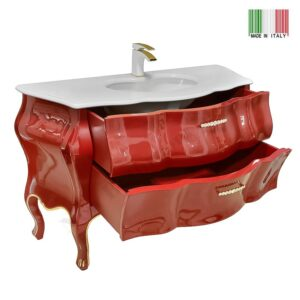 48-inch Modern Bathroom Vanity TOSCA-48 GB GroupeMade in Italy_