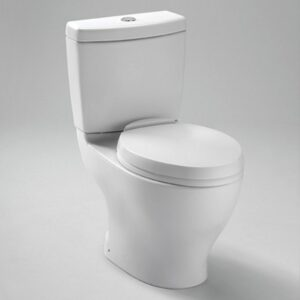 "Aquia® Dual Flush Toilet, 1.6GPF & 0.9GPF - 10"" Rough-in"