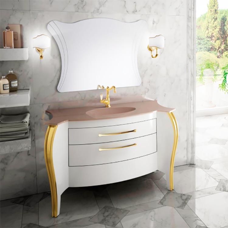 Bathroom vanity BELVEDERE WHITE Mia Italia
