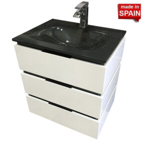 Bathroom vanity 24in ZEBRA Socimobel Made in Spain