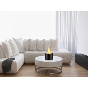Circum Black Series - Ventless Tabletop Ethanol Fireplace