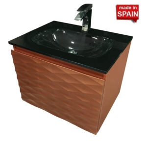 Modern Bathroom Vanity Clovis 24-in Socimobel Made in Spain
