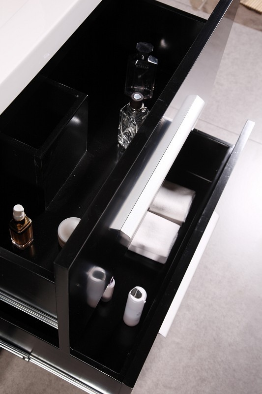 Perfecta 72' Double Sink Vanity Set in Espresso Design Element, DEC079B