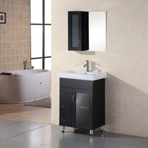 Oslo 24 inch Single Sink Vanity Set Design Element