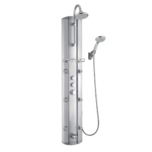 DreamLine SHCM-23580 Hydrotherapy Shower Column with Shower Accessory Holder