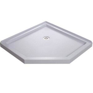 DreamLine SlimLine Neo Shower Base - Corner Drain