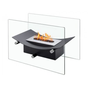 Ethanol Fireplace verona-black