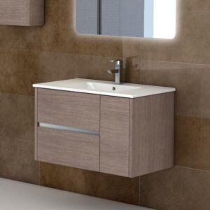 "Aries 32"" Single Modern Bathroom Vanity Set"