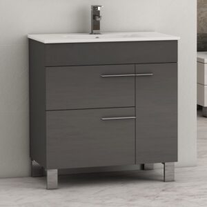 Eviva Cup 31.5 Inch Single Modern Bathroom Vanity Set