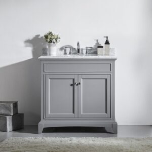 Eviva Elite Stamford 36 Inch Single Bathroom Vanity Set