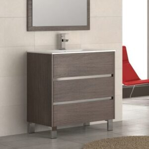 Eviva Escorpio 32 Inch Single Modern Bathroom Vanity Set