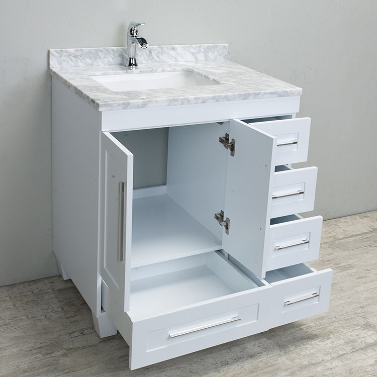 Eviva Loon 30 Inch Single Bathroom Vanity Set New