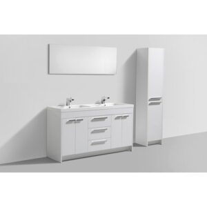 Eviva Lugano 60 Inch Double Bathroom Vanity Set