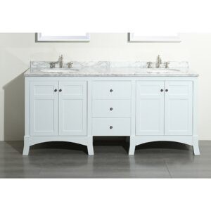 Eviva New York 72 Inch Double Bathroom Vanity Set