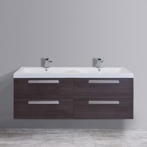 "Surf 57"" Double Bathroom Vanity Set"