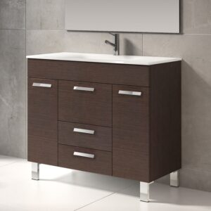 "Venus® 36"" Single Modern Bathroom Vanity Set"