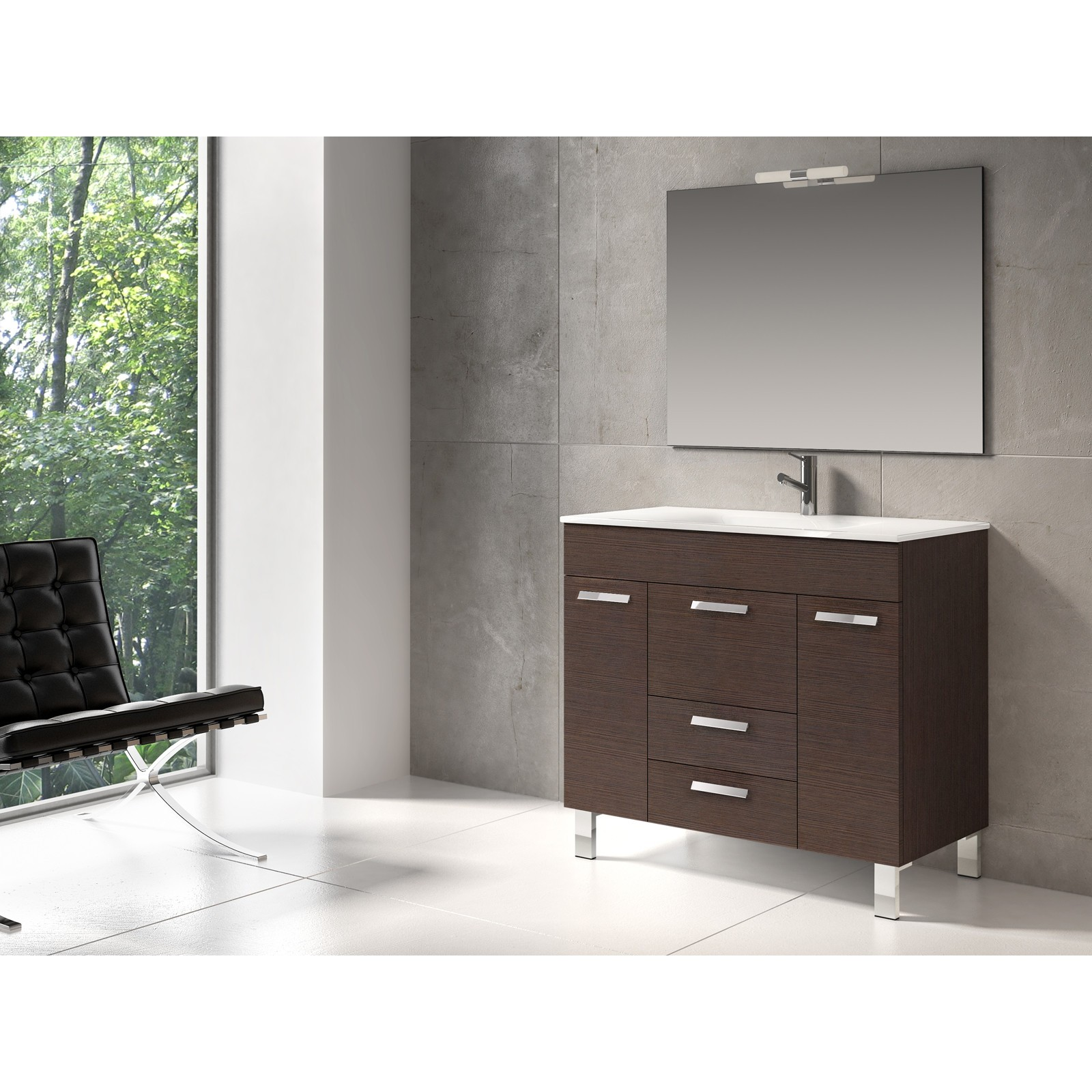 set bathroom vanities white modern integrated acrylic with inch sink vanity