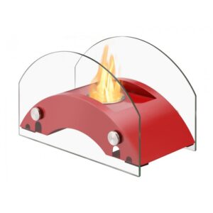 Harbor Red Series - Ventless Tabletop Ethanol Fireplace