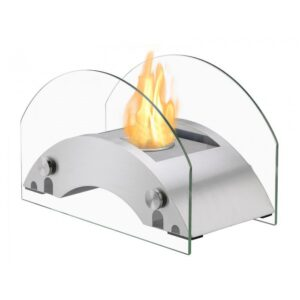 Harbor Stainless Steel Series - Ventless Tabletop Ethanol Fireplace