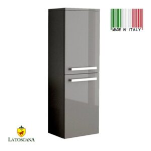 LaToscana AMBRA linen tower Color Glossy Gray AMCO-23G
