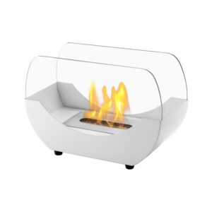 Liberty White Series - Ventless Tabletop Ethanol Fireplace