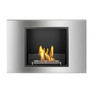 Lima Series - Recessed Ventless Ethanol Fireplace UL_CUL