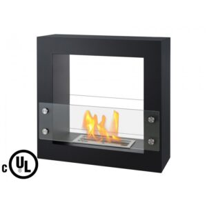 Lisbon Series - Freestanding Ventless Ethanol Fireplace UL_CUL