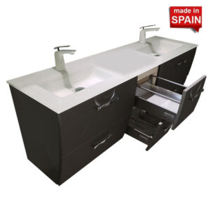 London 60inch Double Bathroom Vanity Socimobel NBS2G06024G