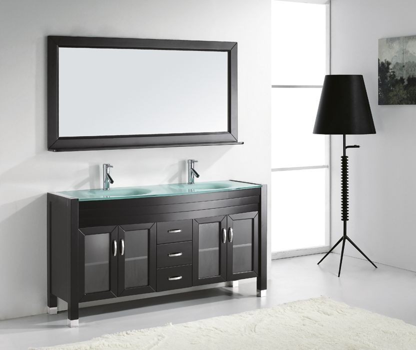 Virtu 63 Inch Ava Bathroom Vanity Espresso | New Bathroom ...