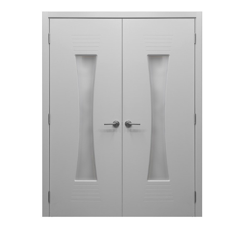 Modern Interior Door M 61 White Laminated Mdf