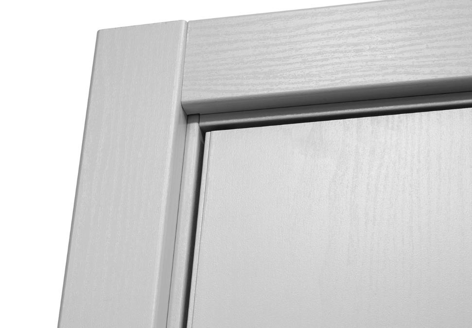Modern Interior Door M 61 White Laminated Mdf Newbathroomstyle