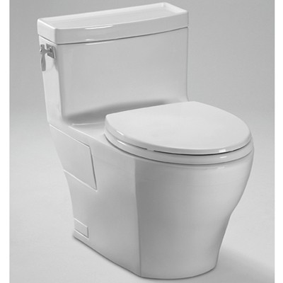 Aimes One-Piece High-Efficiency Toilet, 1.28GPF MS626214CEG