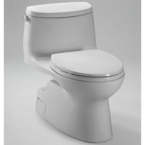 Carlyle® II One-Piece High-Efficiency Toilet, with Sana Gloss, 1.28 GPF MS614114CEFG