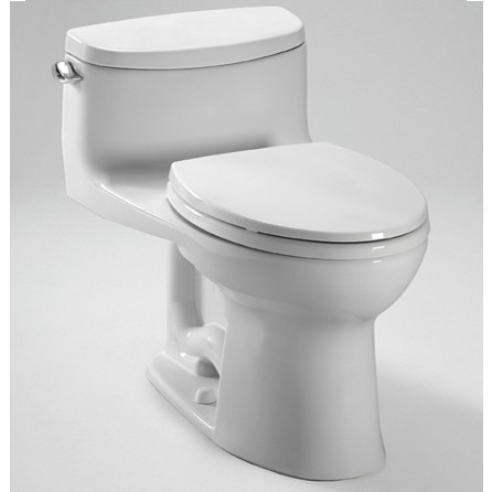 TOTO Supreme II One-Piece High-Efficiency Toilet, with Sana Gloss, 1.28GPF MS634114CEFG