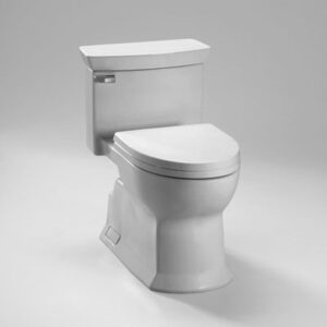 TOTO TOILET MS964214CEF One Piece Toilet, Universal Height, 1.28 GPF