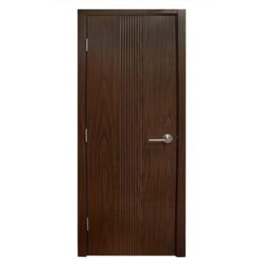 Modern Interior Door M34 Black Walnut laminated MDF