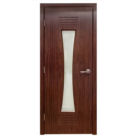 Modern Interior Door M61 Black Walnut