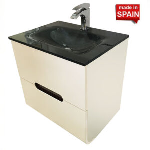 Oxford Modern Bathroom Vanity 24-in Bellezza Made in Spain