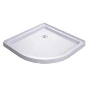 "DreamLine SlimLine 38"" by 38"" Quarter Round Shower Tray, DLT-7038380"