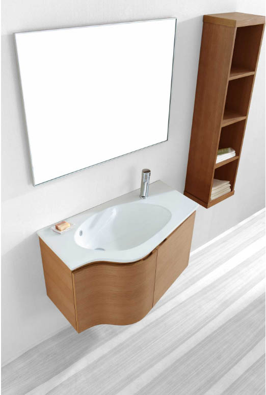 Roselle 36 inch Single Bathroom Vanity Cabinet Set ES-1236-C-CH