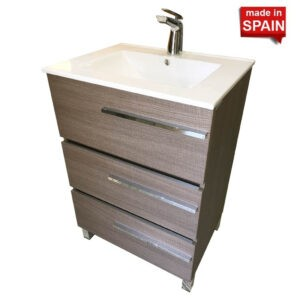 SOCIMOBEL 24 INCH AURORA COLOR OTHELLO MODERN BATHROOM VANITY